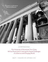 What's Missing in the University of Minnesota's Strategic Plan?